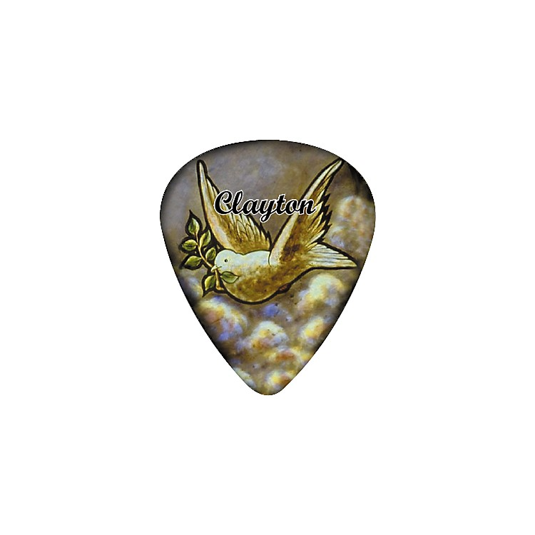 Clayton Dove Guitar Pick 12 Pack .50MM 1 Dozen