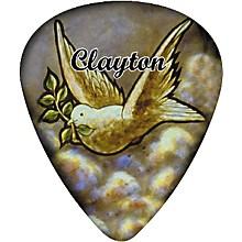 Clayton Dove Guitar Pick 12 Pack 1.26 mm 1 Dozen