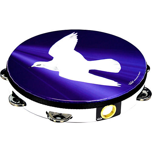 Remo Dove Tambourine 10 in., 8 Jingle