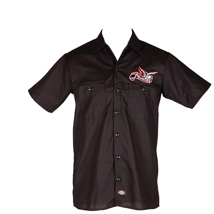 Fender Dove Workshirt Black Extra Large