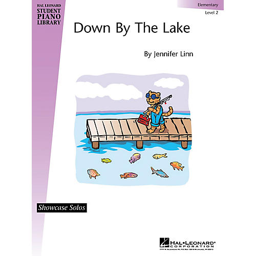 Hal Leonard Down By the Lake Piano Library Series Book by Jennifer Linn (Level Elem)-thumbnail