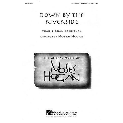 Hal Leonard Down by the Riverside SATB a cappella arranged by Moses Hogan-thumbnail