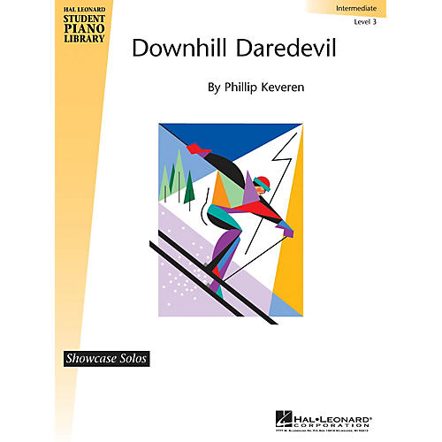Hal Leonard Downhill Daredevil Piano Library Series by Phillip Keveren (Level Late Elem)-thumbnail