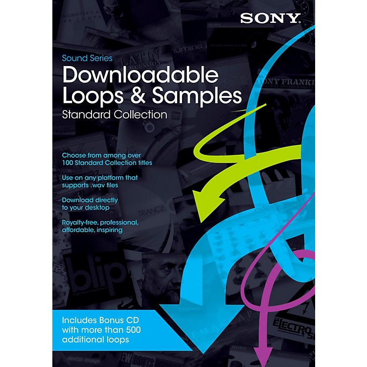 SonyDownloadable Loops Standard CollectionSoftware Download