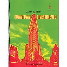 Amstel Music Downtown Divertimento Concert Band Level 3 Composed by Johan de Meij