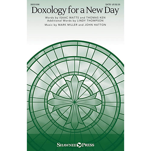 Shawnee Press Doxology for a New Day SATB composed by John Hatton-thumbnail