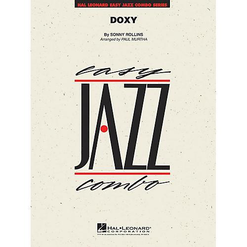 Hal Leonard Doxy Jazz Band Level 2 by Sonny Rollins Arranged by Paul Murtha-thumbnail