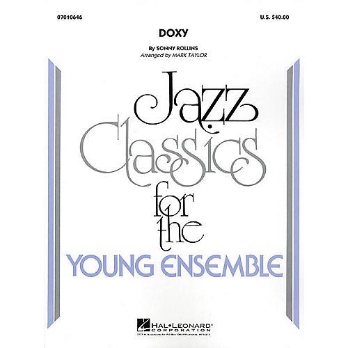Hal Leonard Doxy Jazz Band Level 3 Arranged by Mark Taylor-thumbnail