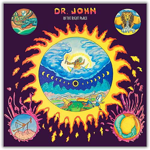 WEA Dr. John - In the Right Place Vinyl LP-thumbnail