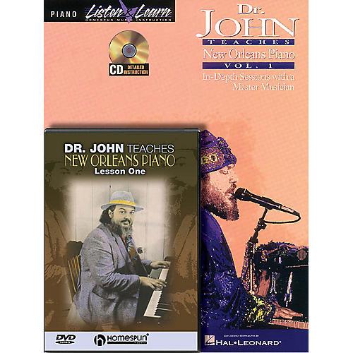 Homespun Dr. John - Piano Bundle Pack Homespun Tapes Series Softcover with DVD Written by Dr. John Rebennack-thumbnail