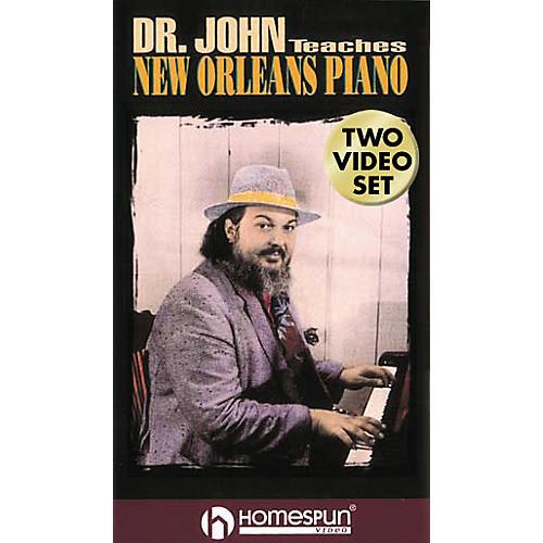 Hal Leonard Dr. John Teaches New Orleans Piano - 2-Video Set