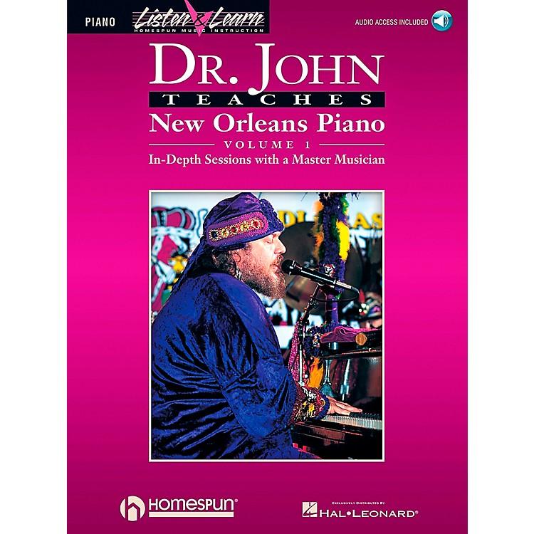 Hal LeonardDr. John Teaches New Orleans Piano Volume 1 CD Package