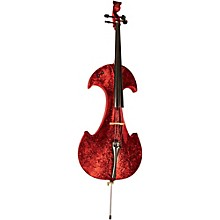 Bridge Draco Series 4-String Electric Cello Red Marble