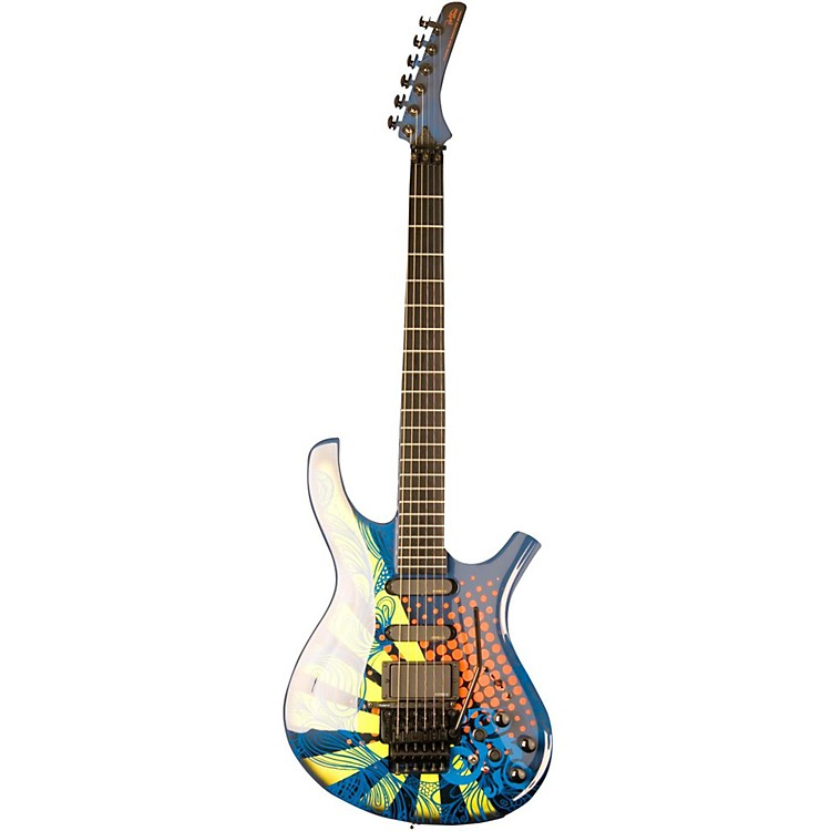 Parker Guitars Dragon Fly Vernon Reid Signature Electric Guitar HX graphic