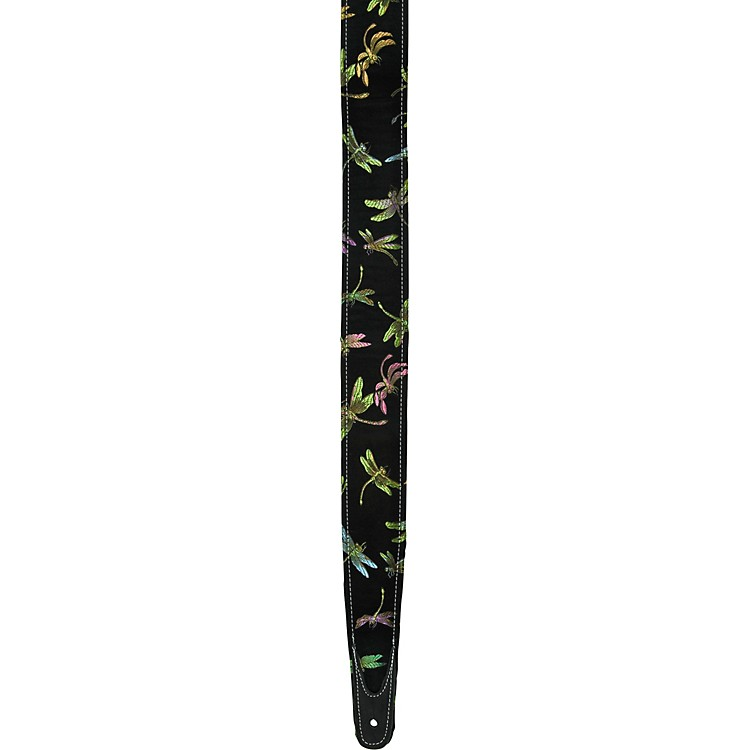 Jodi Head Dragonfly Guitar Strap Black