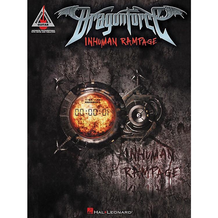 Hal LeonardDragonforce - Inhuman Rampage Guitar Tab Songbook