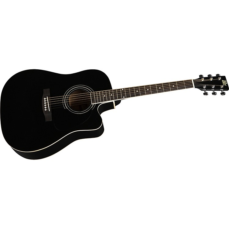 Rogue Dreadnought Cutaway Acoustic-Electric Guitar
