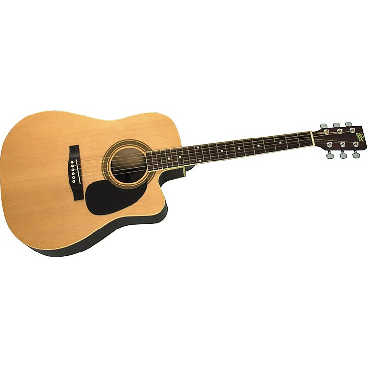RogueDreadnought Cutaway Acoustic-Electric GuitarNatural