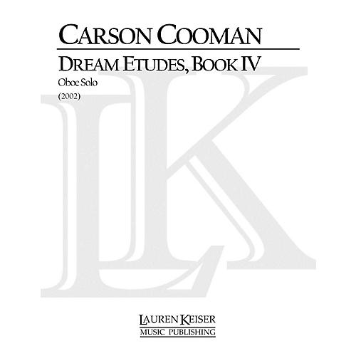Lauren Keiser Music Publishing Dream Etudes, Book IV (Oboe Solo) LKM Music Series by Carson Cooman-thumbnail