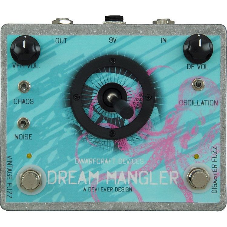 DwarfcraftDream Mangler Distortion Guitar Effects Pedal