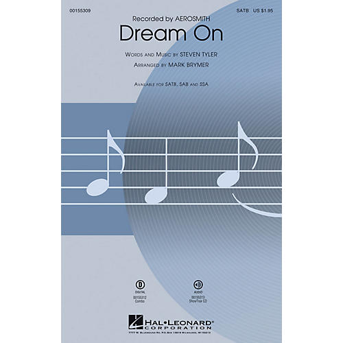 Hal Leonard Dream On SATB by Aerosmith arranged by Mark Brymer-thumbnail