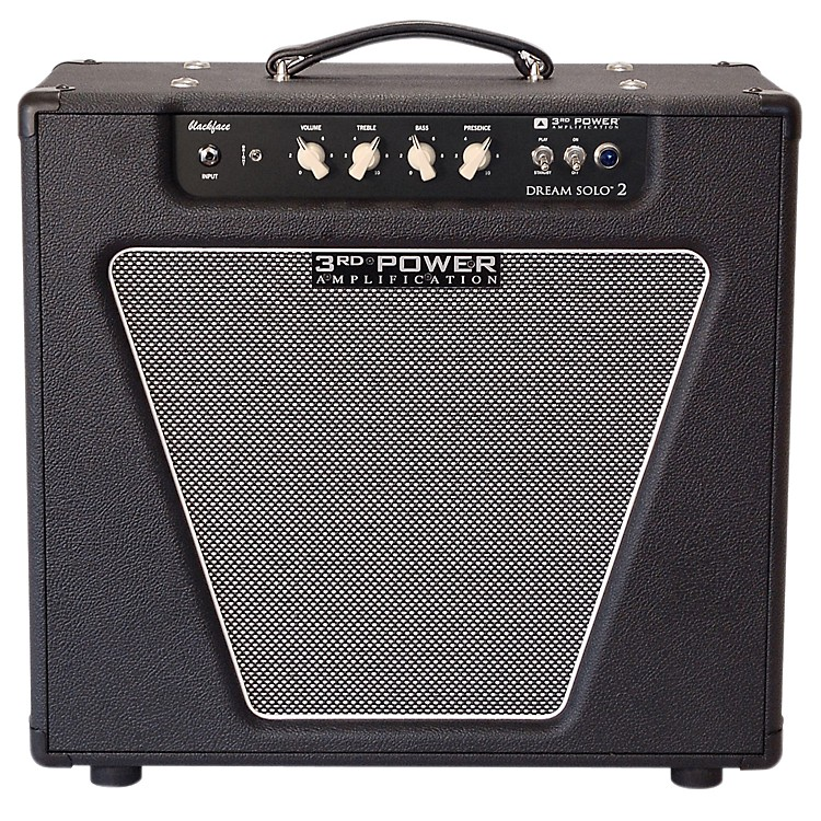 3rd Power Amps Dream Solo 2  22W 1x12 Tube Guitar Combo Amp Black