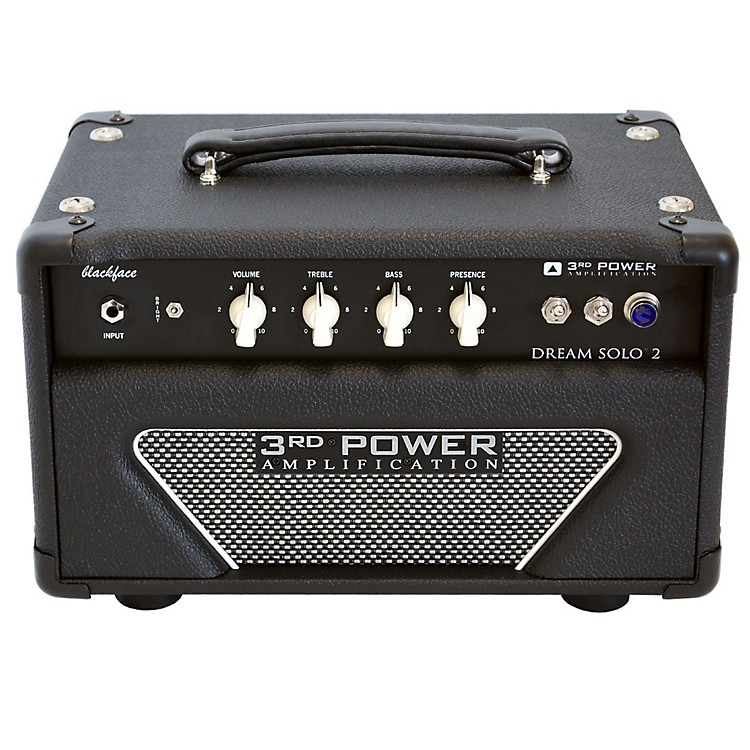 3rd Power Amps Dream Solo 2 22W Tube Guitar Amp Head Black