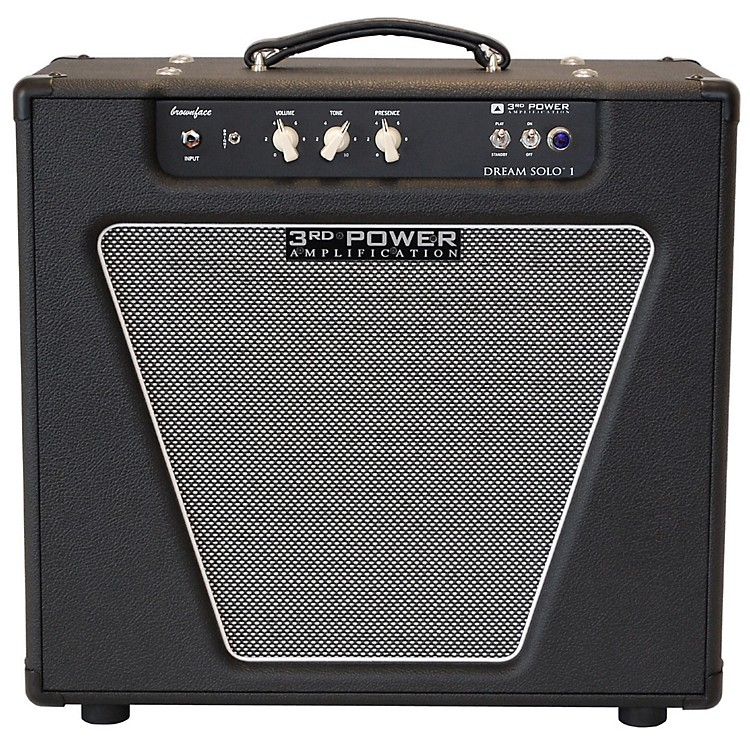 3rd Power AmpsDream Solo 22W 1x12 Tube Guitar Combo AmpBlack