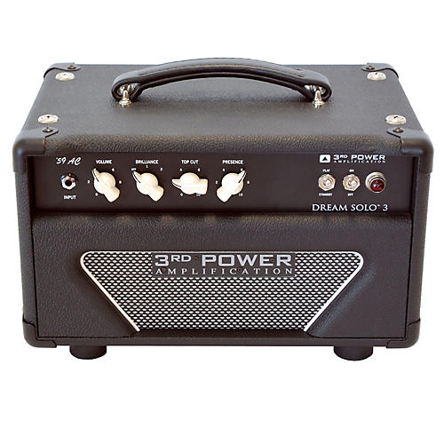 3rd Power Amps Dream Solo 3 22W Tube Guitar Amp Head