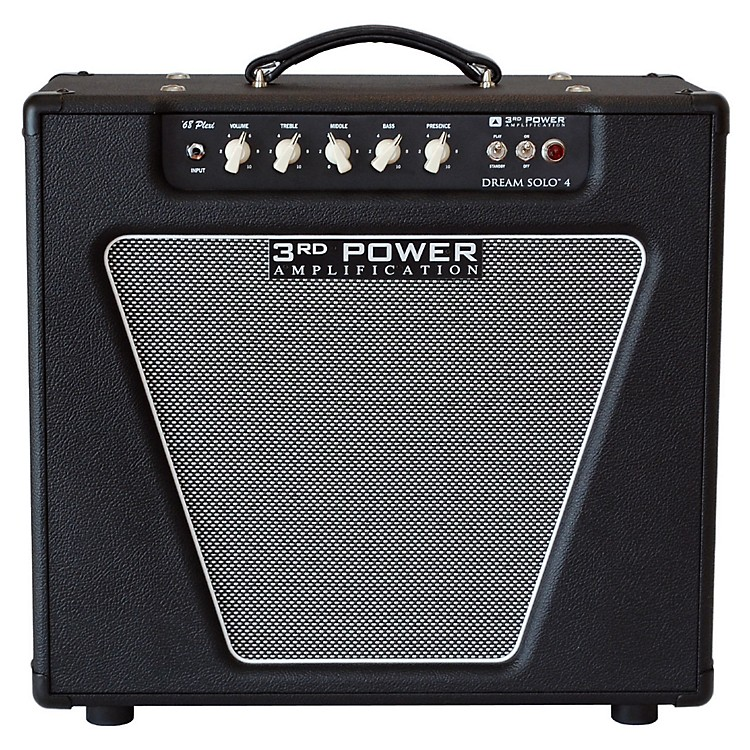 3rd Power Amps Dream Solo 4 22W 1x12 Tube Guitar Combo Amp Black