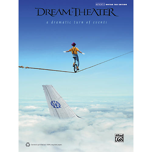 Hal Leonard Dream Theater - A Dramatic Turn of Events Guitar TAB Book