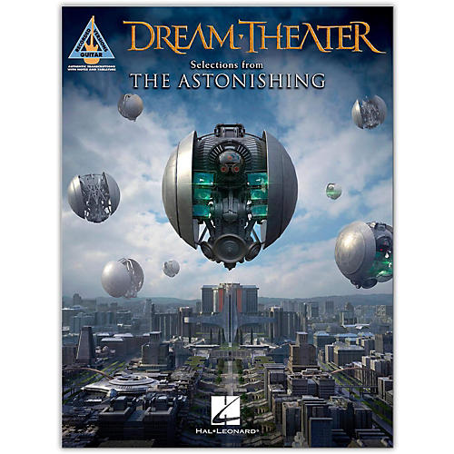 Hal Leonard Dream Theater - Selections from the Astonishing Guitar Tab Songbook-thumbnail