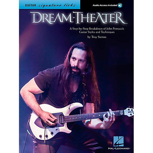 Hal Leonard Dream Theater Guitar Signature Licks - Breakdown of John Petrucci's Styles and Techniques Book/Audio Online-thumbnail