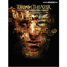 Hal Leonard Dream Theater Metropolis Part 2 Scenes from a Memory Guitar Tab Book