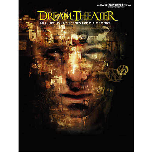 Hal Leonard Dream Theater Metropolis Part 2 Scenes from a Memory Guitar Tab Book
