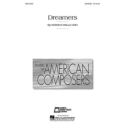 Edward B. Marks Music Company Dreamers SATB Divisi composed by Norman Dello Joio
