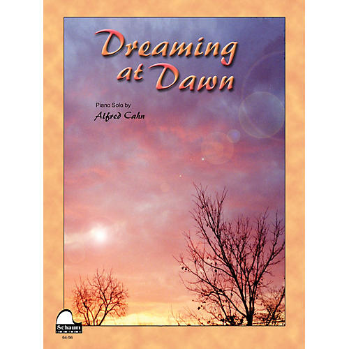 SCHAUM Dreaming At Dawn Educational Piano Series Softcover-thumbnail