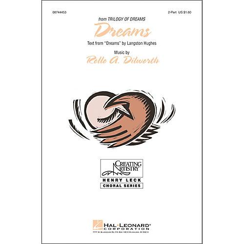 Hal Leonard Dreams 2-part choral-thumbnail