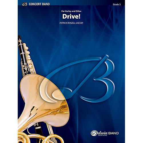 BELWIN Drive! Concert Band Grade 3 (Medium Easy)-thumbnail