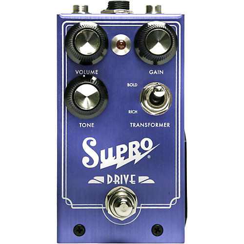 Supro Drive Guitar Effects Pedal-thumbnail