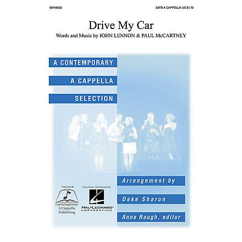 Contemporary A Cappella Publishing Drive My Car SATB a cappella by John Lennon arranged by Deke Sharon-thumbnail