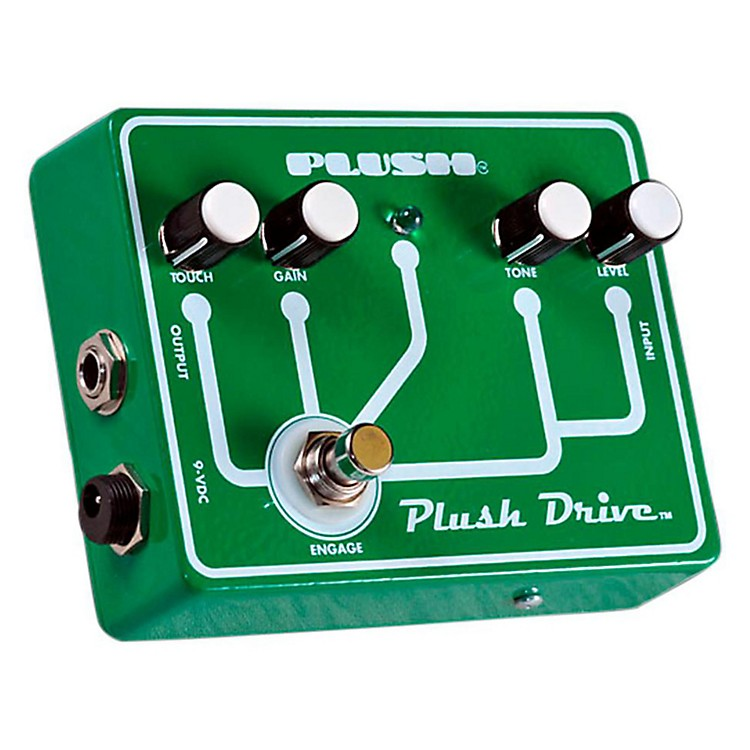 Plush Drive Overdrive Guitar Effects Pedal