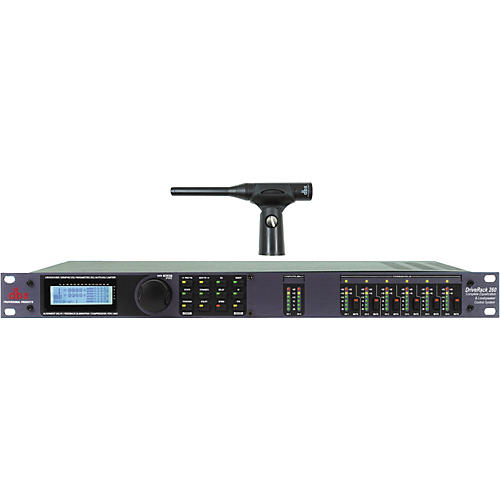 dbx Drive Rack 260 with RTA-M Reference Mic-thumbnail