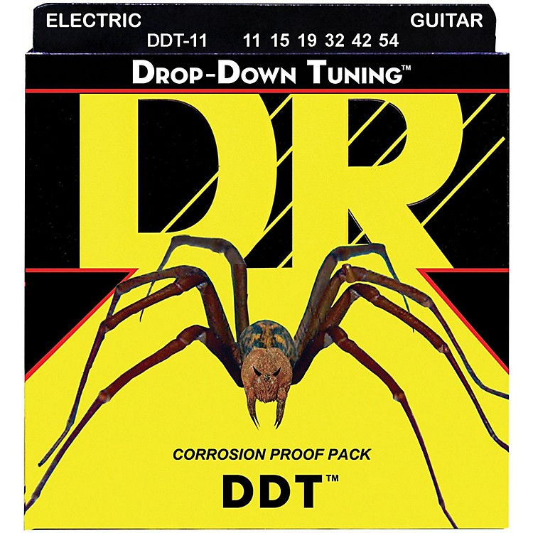 DR StringsDrop Down Tuning Extra Heavy Electric Guitar Strings (11-50)