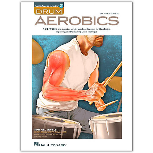 Hal Leonard Drum Aerobics - Book/2-CD Pack