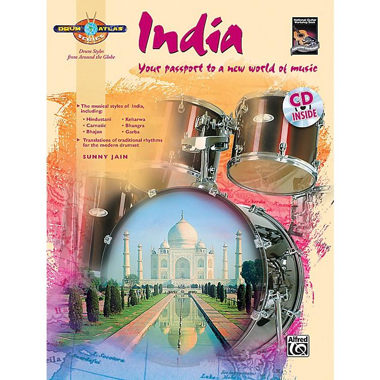 AlfredDrum Atlas: India (Book/CD)