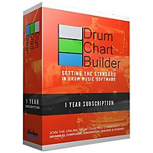 Drum Chart Builder Drum Chart Builder 1 Year Subscription