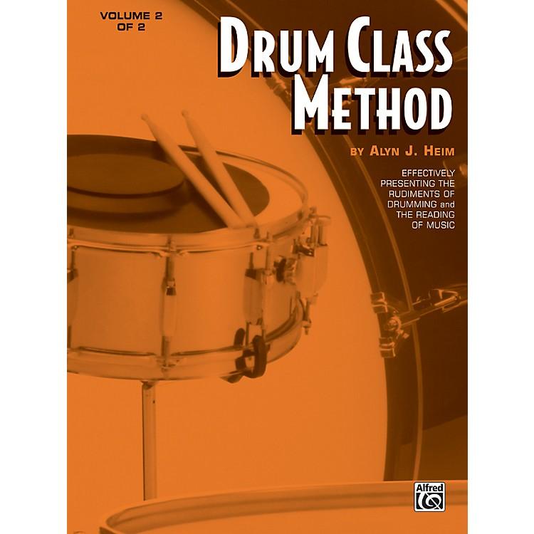 AlfredDrum Class Method Volume 2 Book