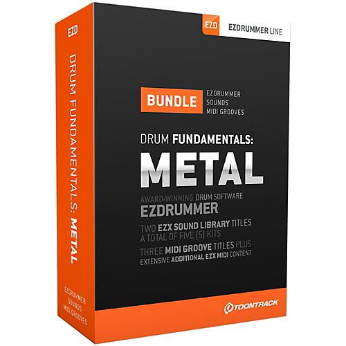 Toontrack Drum Fundamentals Metal Software Download
