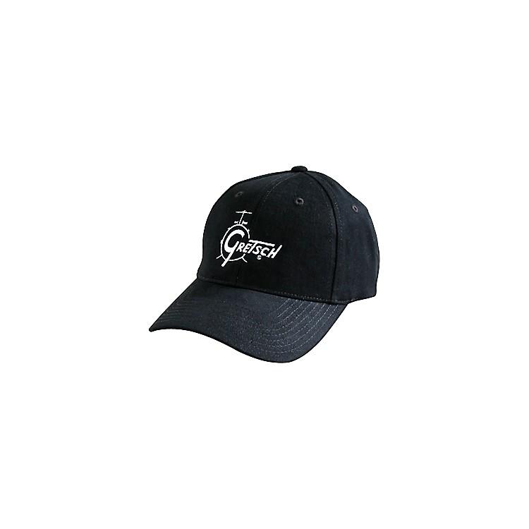 GretschDrum Logo Adjustable Baseball CapBlack